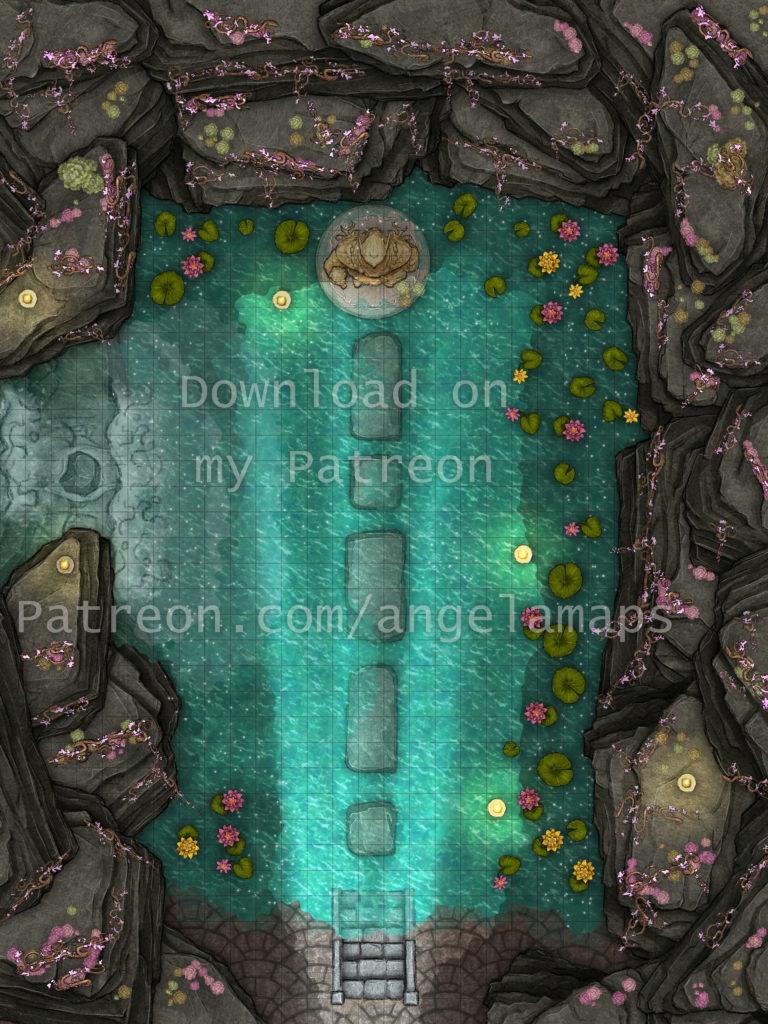 Cavern of Life battle map