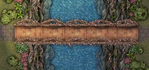 Summer bridge battle encounter map