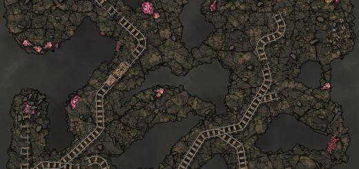 Mines battlemap