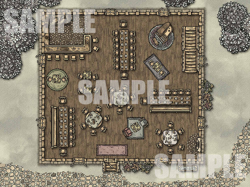 Awesome Inn battlemap