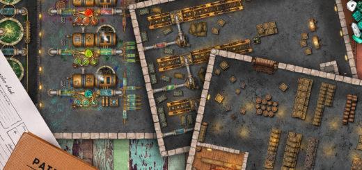 Potion Factory Battle Map
