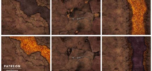 Avernus or hellscape maps for D&D battles