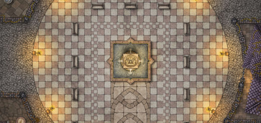 Lady of pain statue in Sigil city of doors