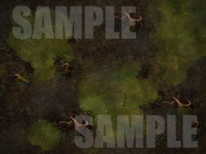 Minauros third layer of hell battle map for D&D