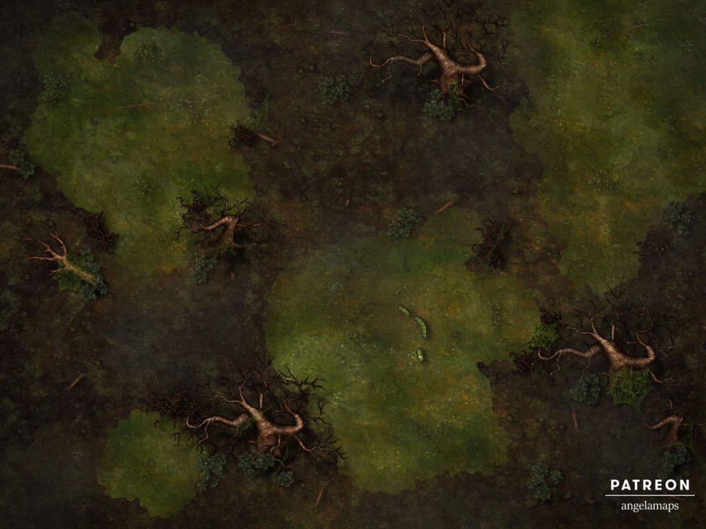 Minauros third layer of hell battlemap