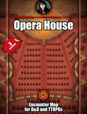 Opera House Battle map pack