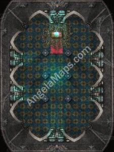 Pathfinder Starstone trial battle map